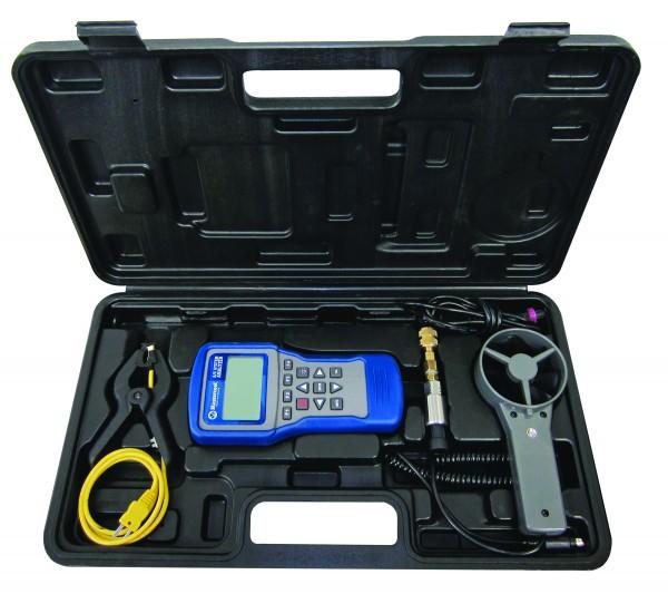 Diagnosegerät für Klimaanlagen Kofferset